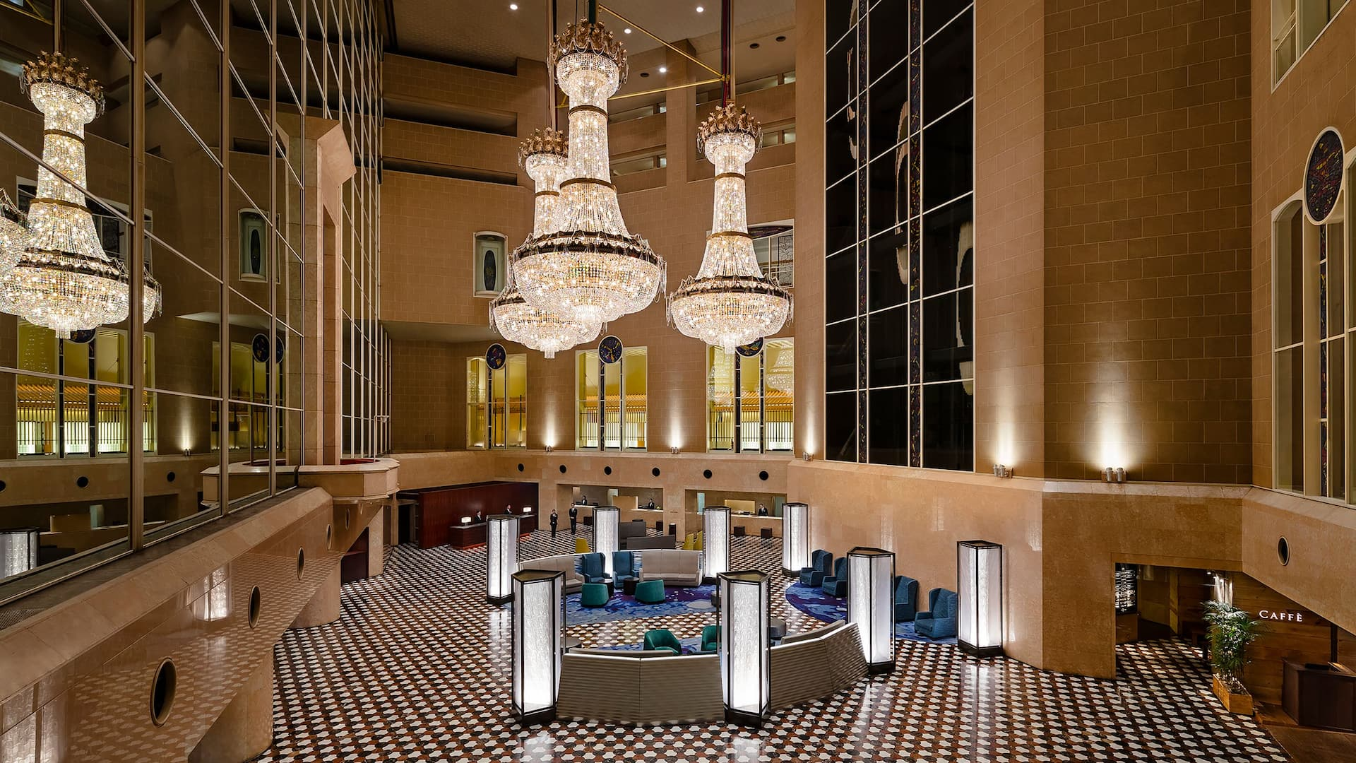 Hyatt Regency Tokyo Lobby