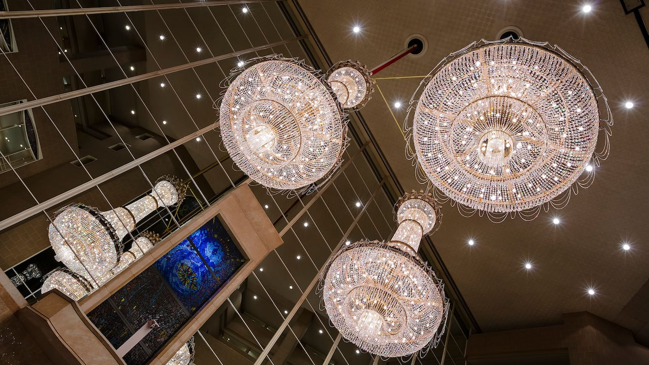 Lobby Chandeliers image