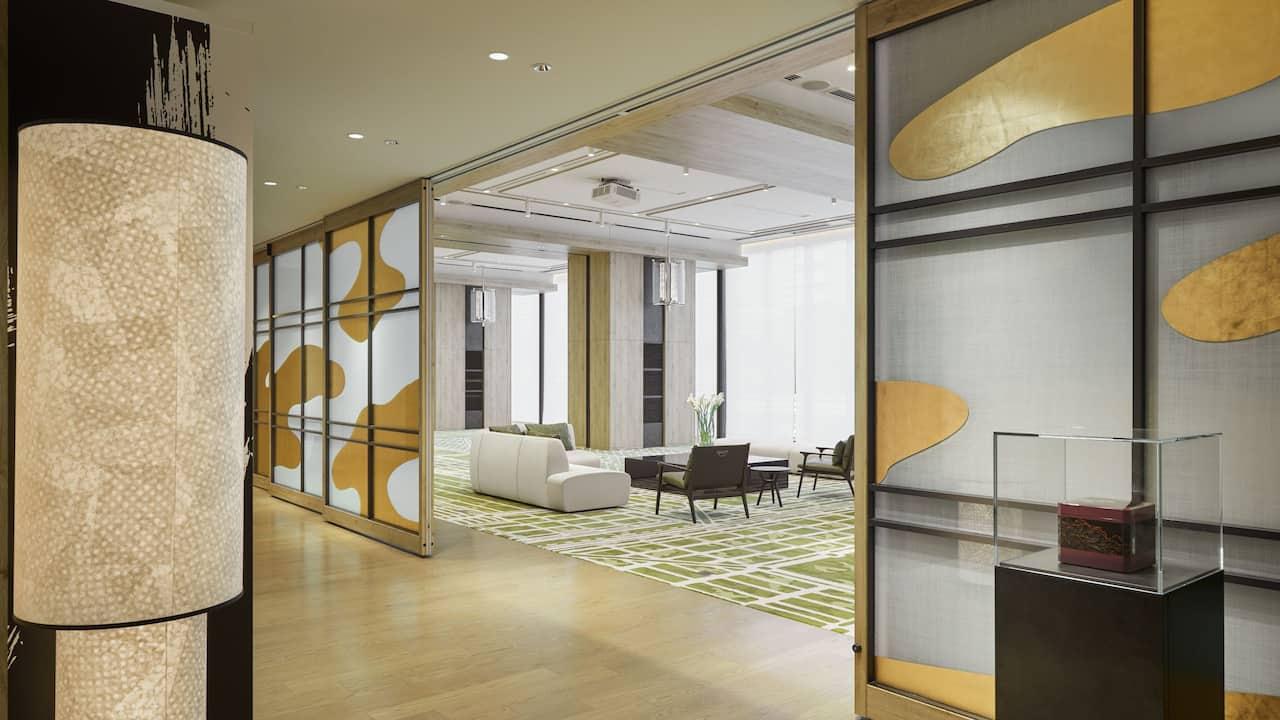 Hyatt Centric Kanazawa Event Space Prefunction Room and Room W