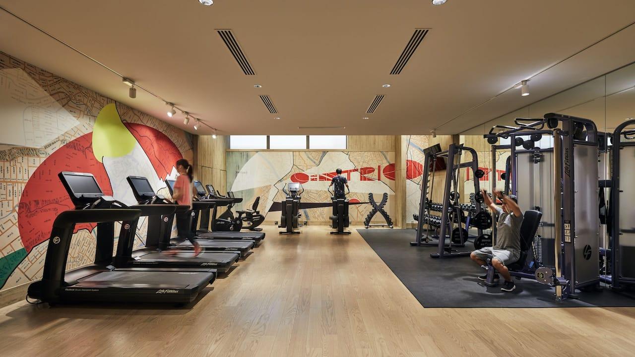 Hyatt Centric Kanazawa Gym