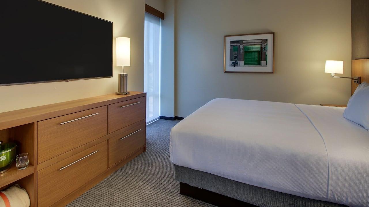 One Bedrooms King Suite Bedroom