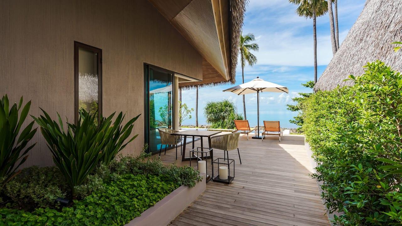 Pool Villa Rest Area at Hyatt Regency Koh Samui