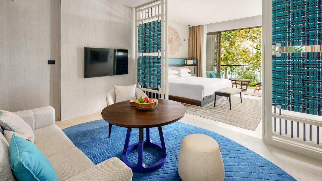 Regency Suite Living Area