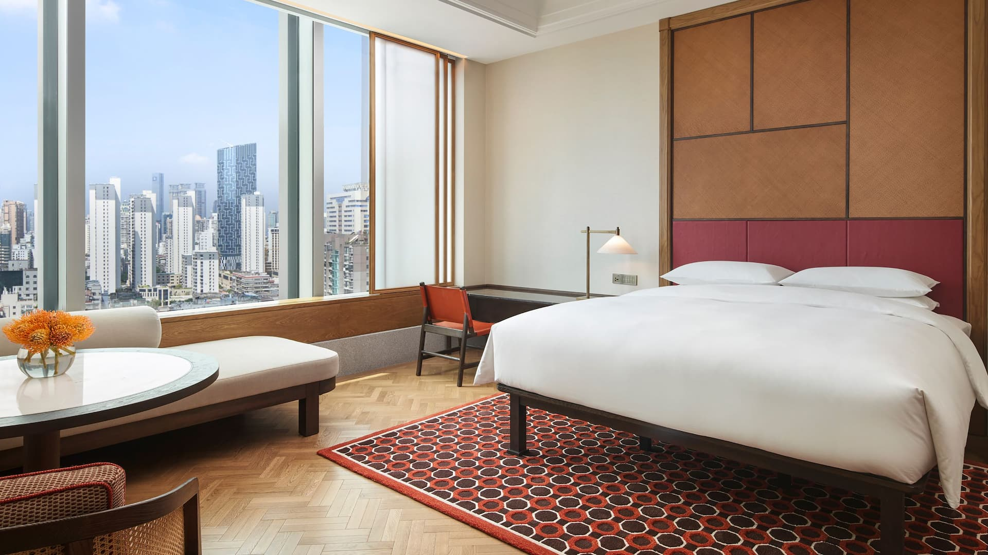 One King Bed Deluxe at Andaz Xiamen