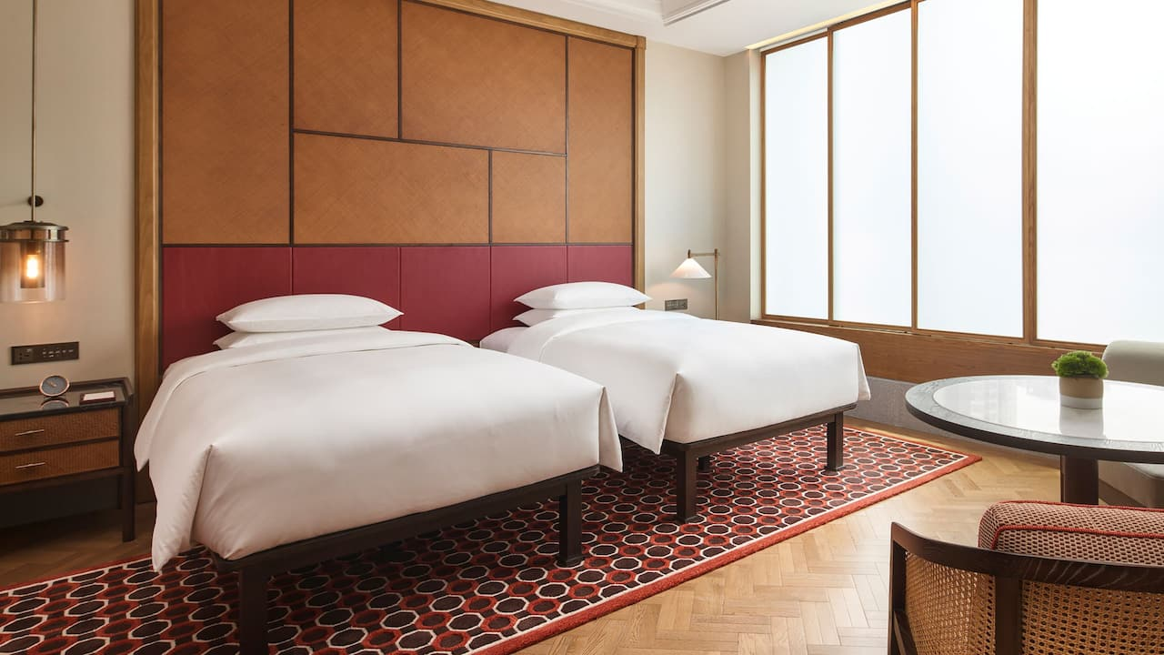 2 Twin Beds at Andaz Xiamen