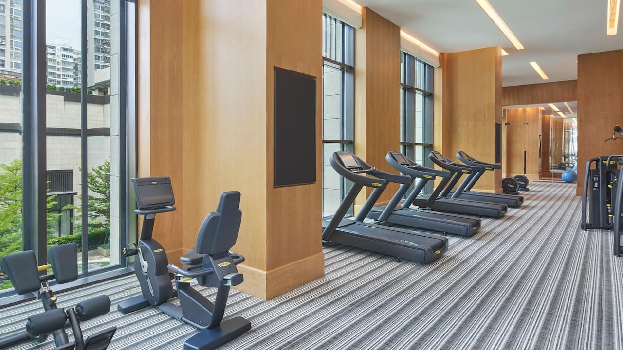 Gym at Andaz Xiamen