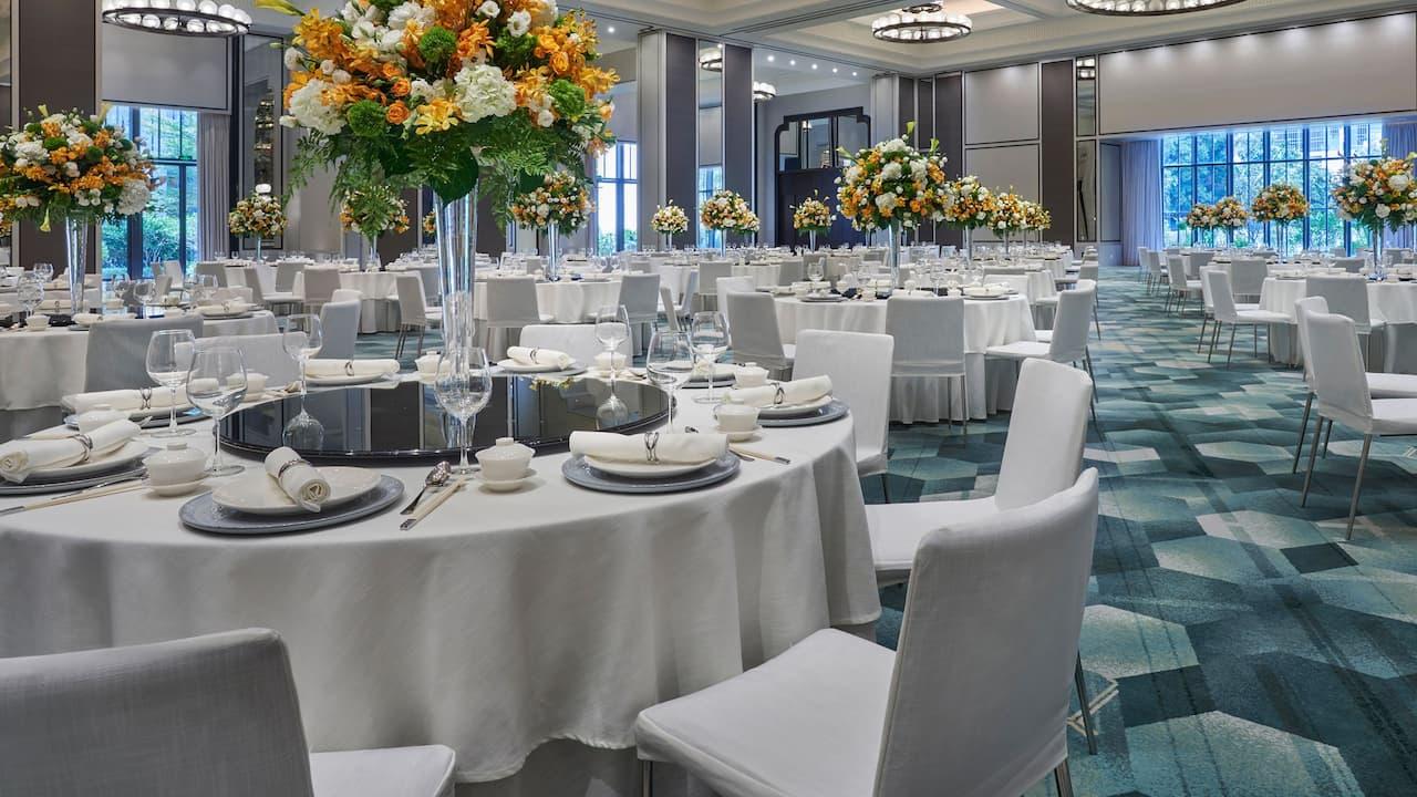 Ballroom Banquet at Andaz Xiamen