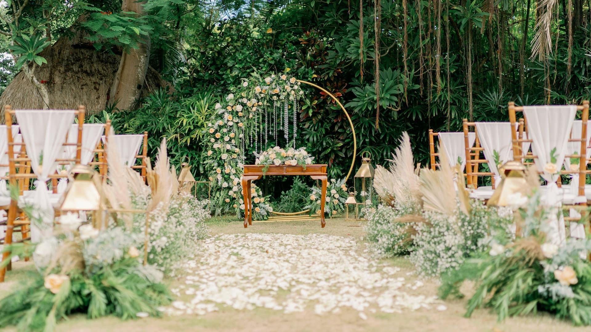 Weddings at The Hyatt Regency Resort, Bali, Sanur Bali
