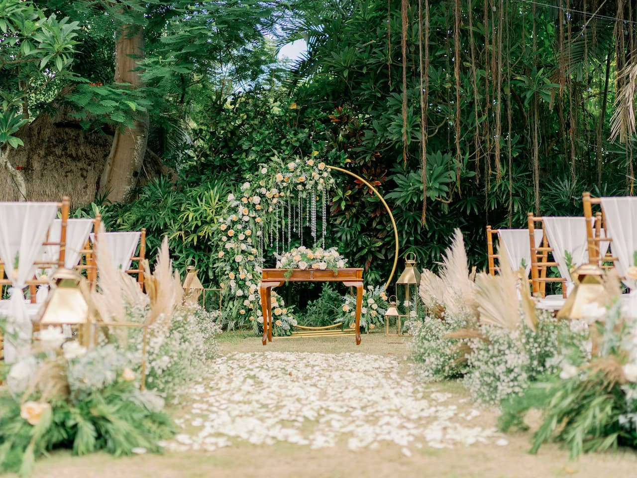 Garden Wedding in Sanur, Hyatt Regency Bali