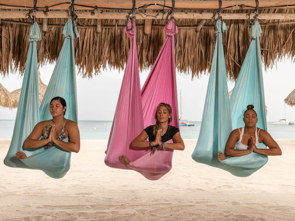 Aerial Yoga Participants