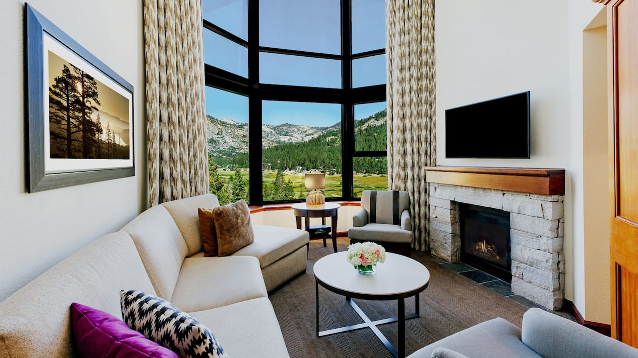 Two Bedroom Penthouse Living Room
