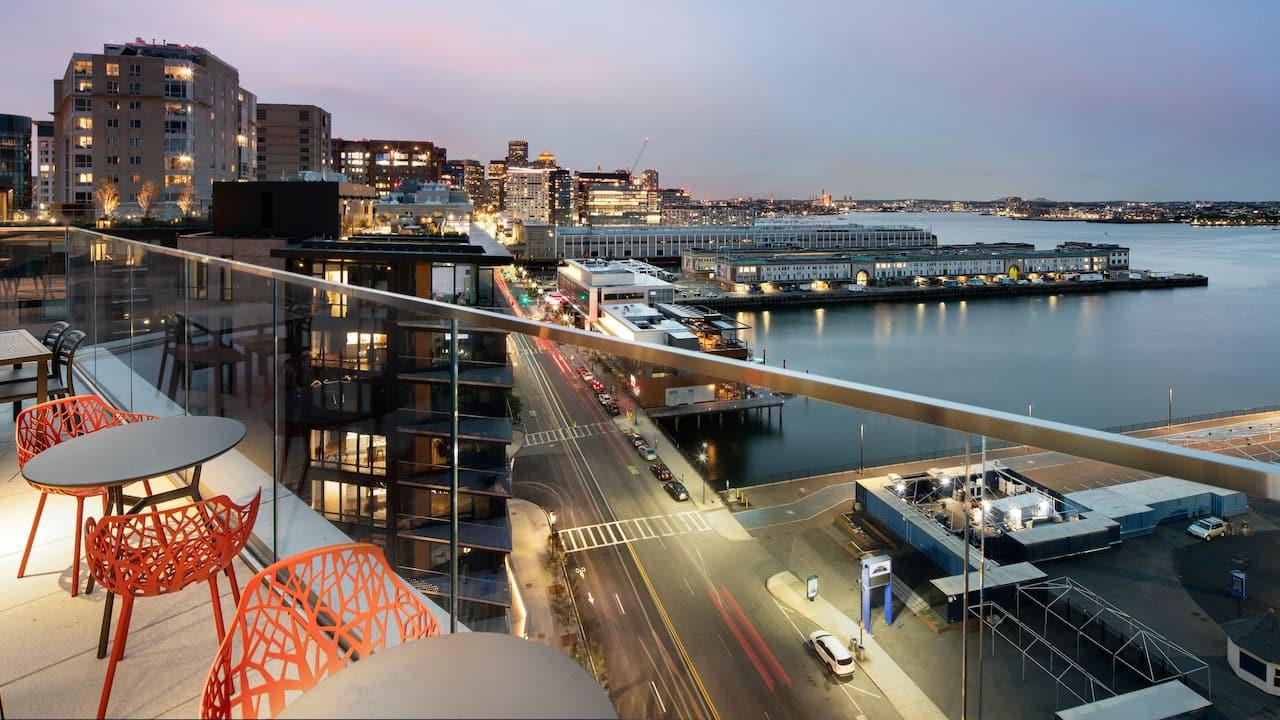 Hyatt Place Boston / Seaport District Upper Roof Deck