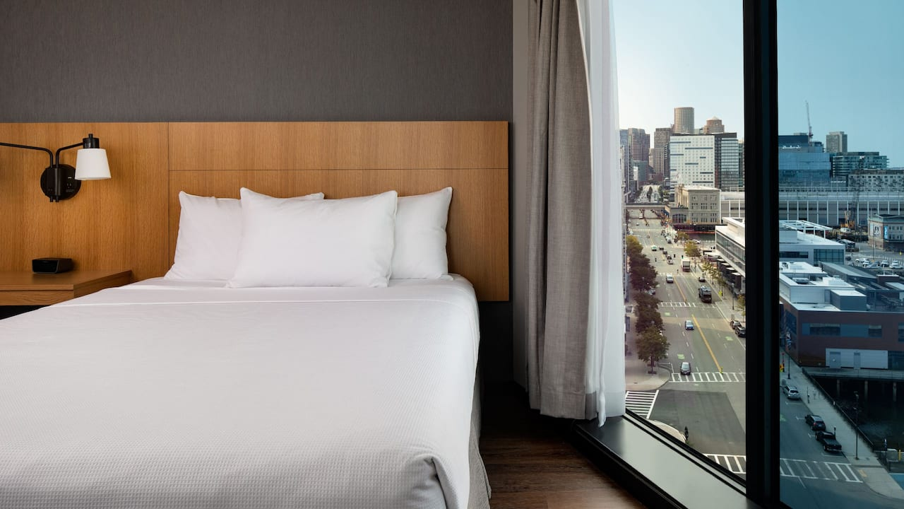 Hyatt Place Boston / Seaport District Double Queen Beds with a View near Boston Waterfront
