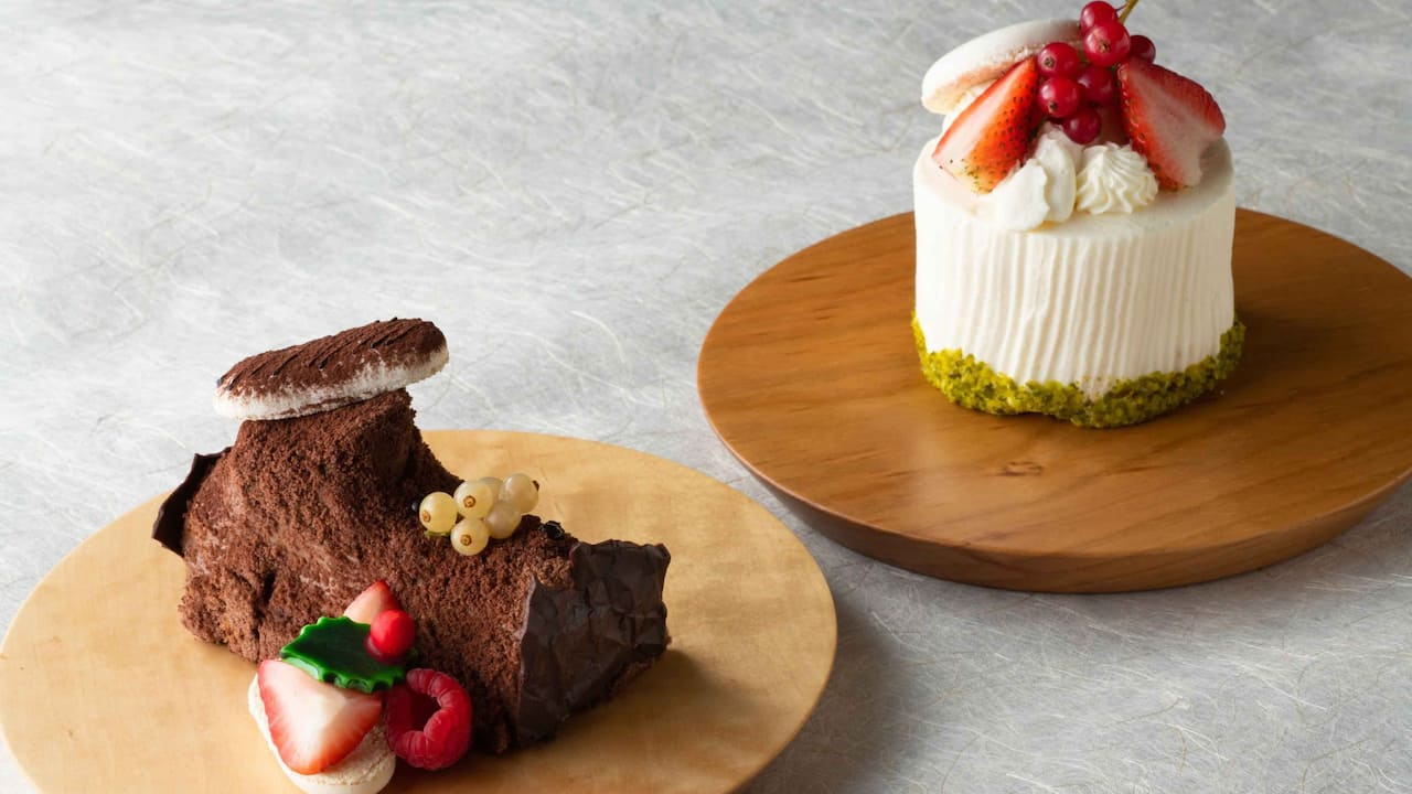 Hyatt Regency Hakone Resort & Spa| Christmas cake 2020