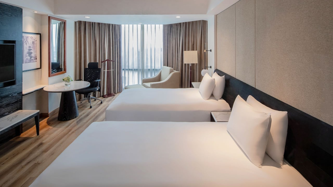 Hyatt Regency West Hanoi Twin Beds
