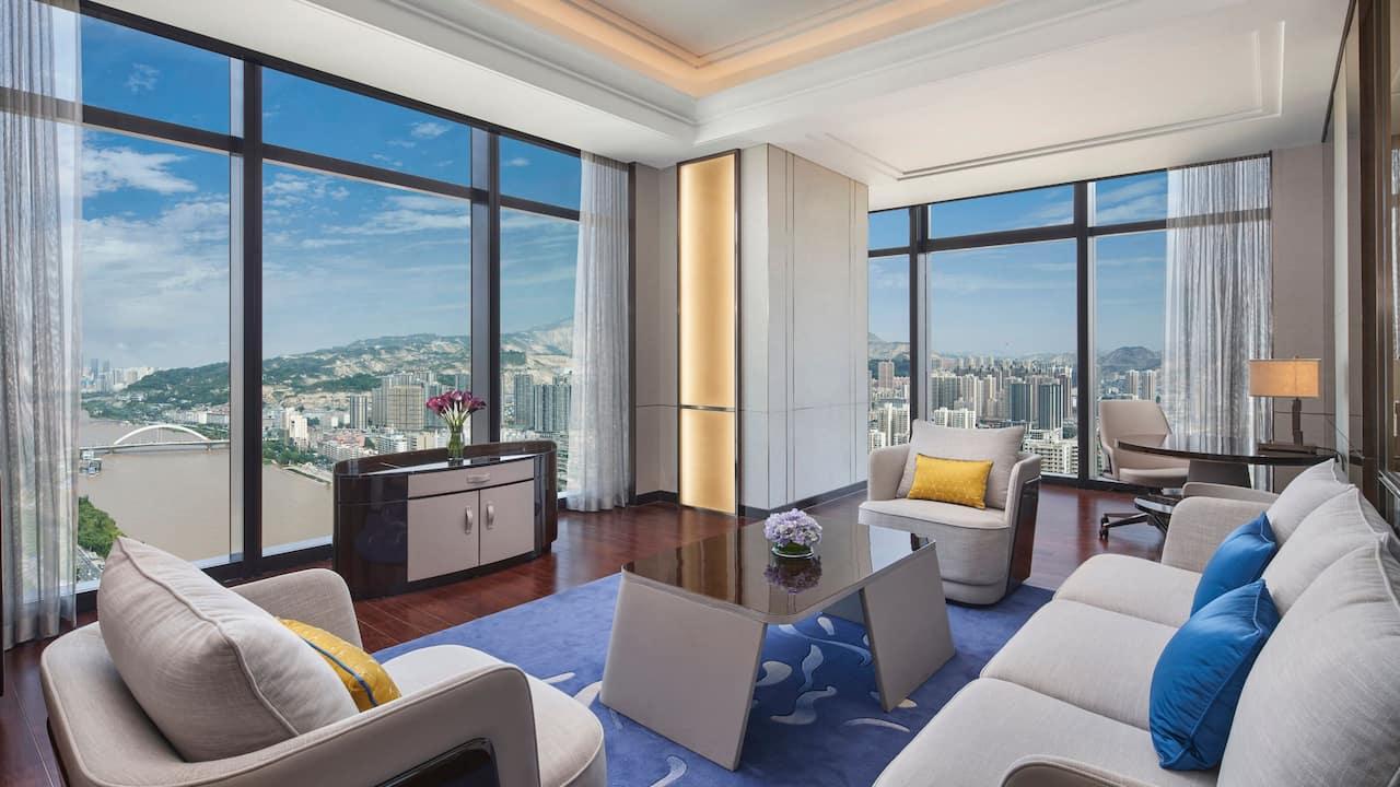 Hyatt Regency Lanzhou Regency Suite Living Room