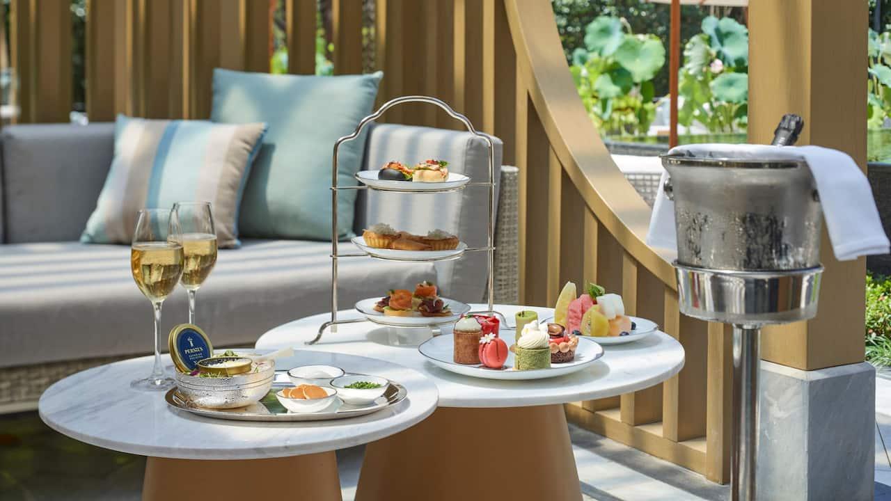 Park Hyatt Suzhou-Living Room Afternoon Tea