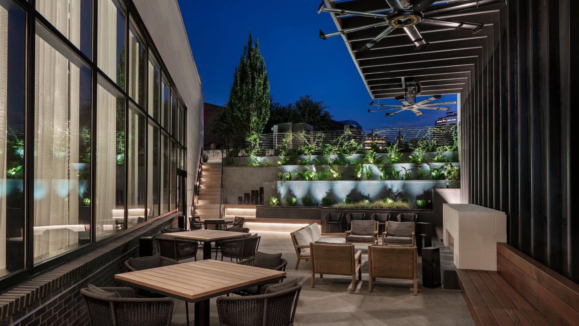 Outdoor Terrace Patio