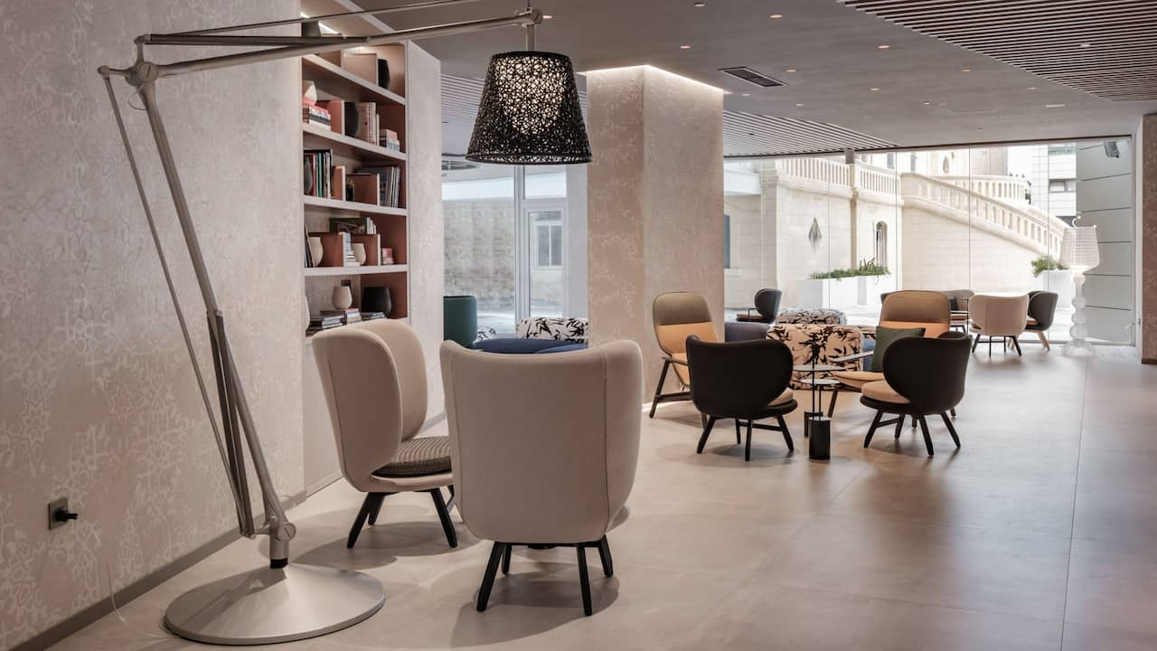Hyatt Regency Malta Lobby Seating Area