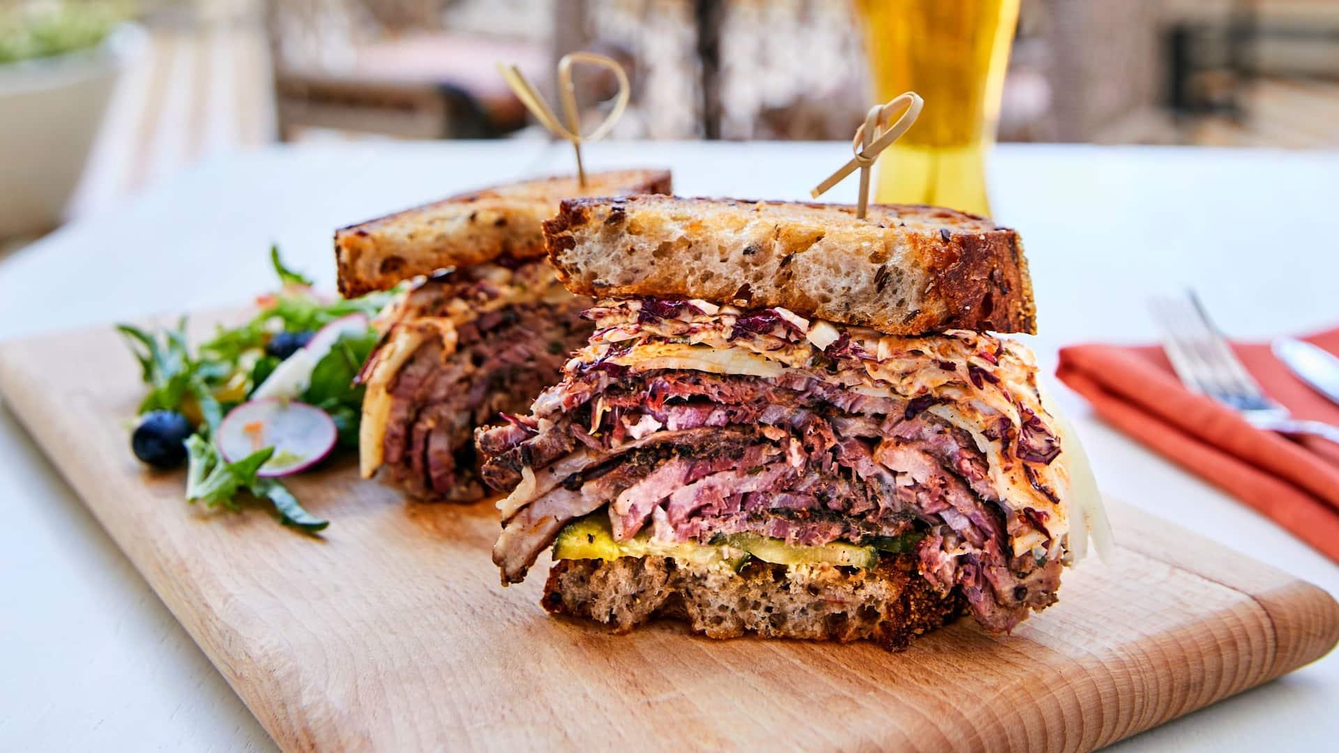 Ambersweet Reuben Sandwich