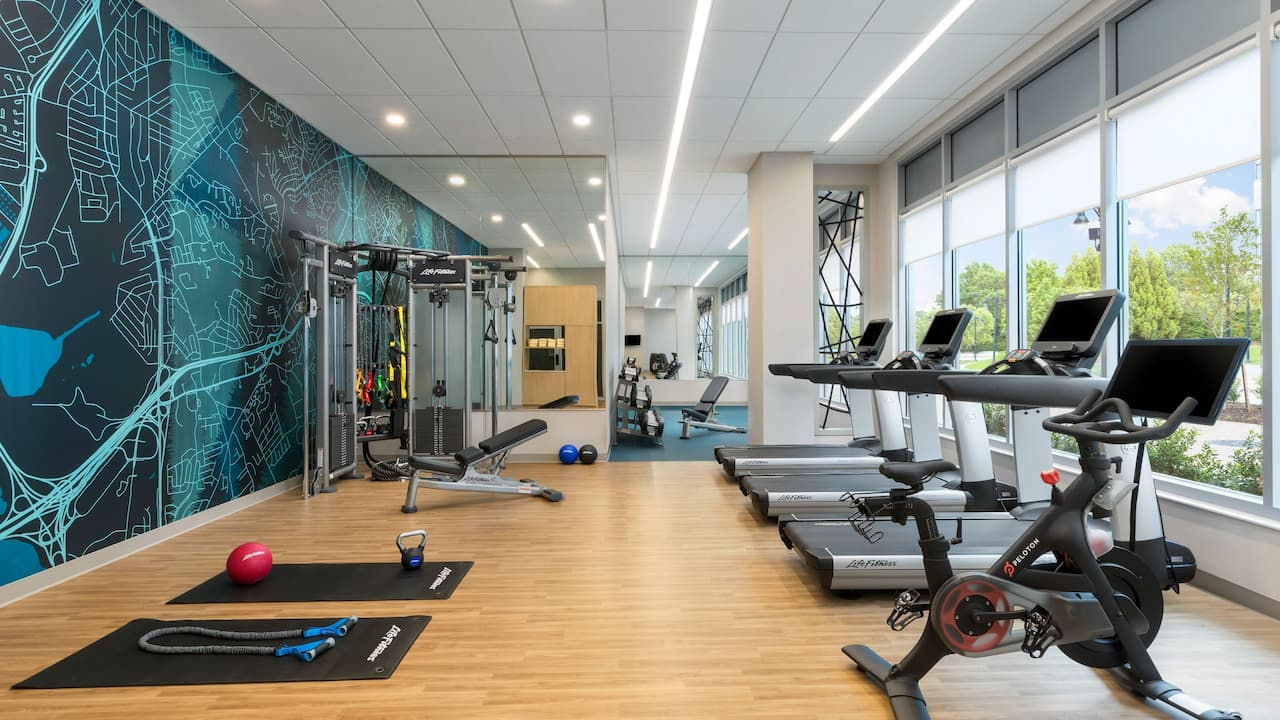 Hyatt Place 24/7 Gym