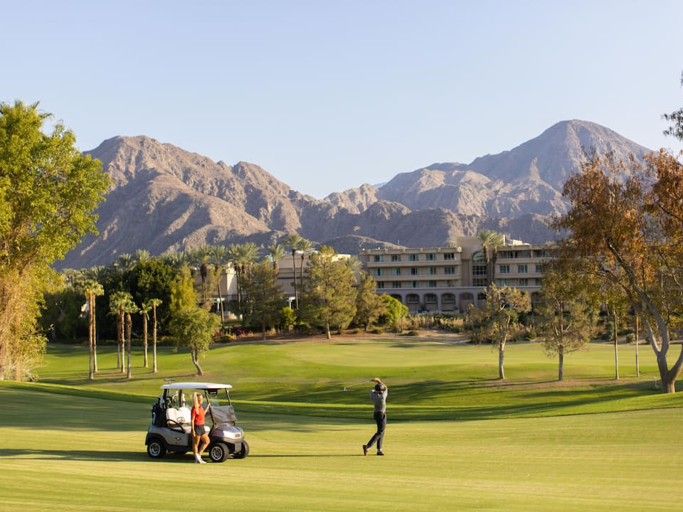 A golf resort located in Indian Wells and near Hyatt Regency Indian Wells Resort & Spa