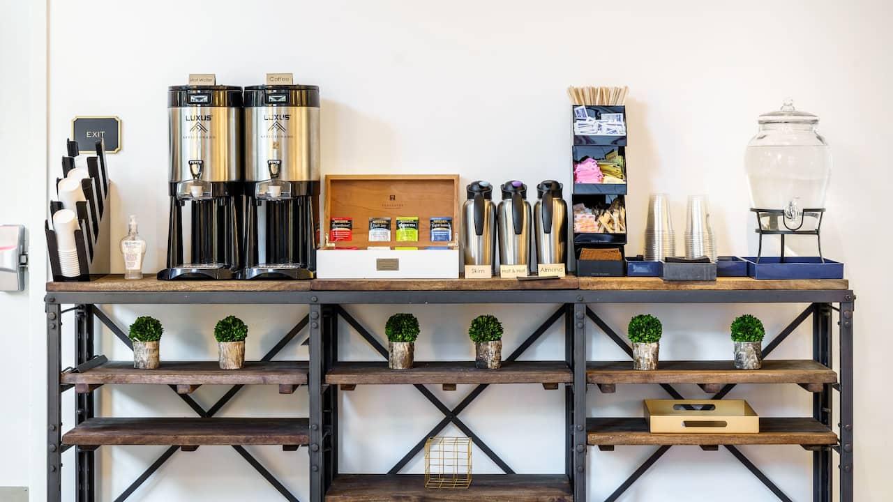 Lobby Lounge Coffee Station