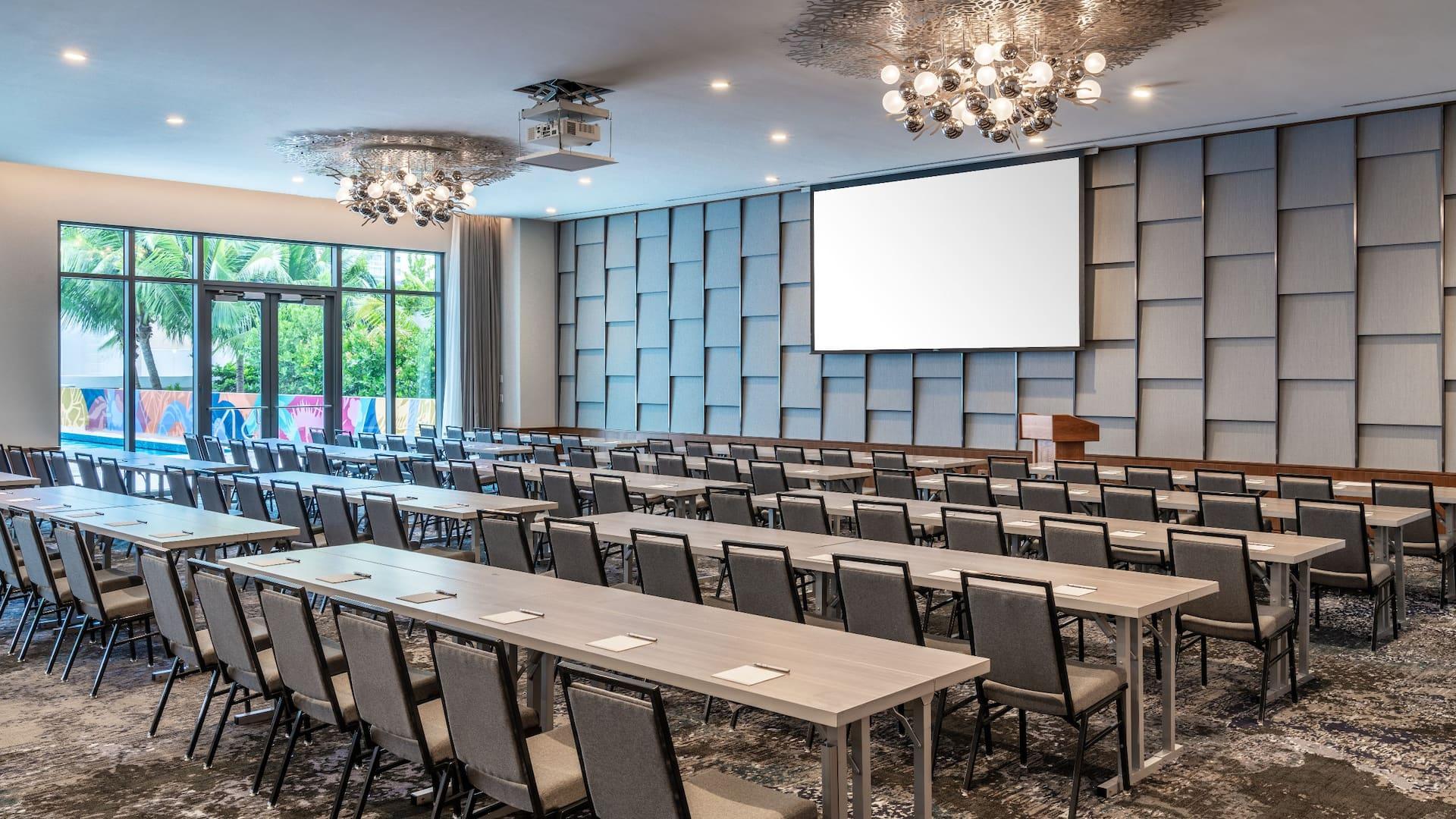 Hotel Conference Room Setup