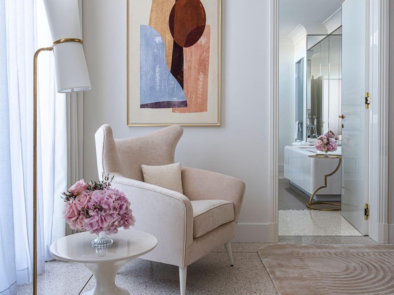 Details Chambre et Suite a l'hotel martinez