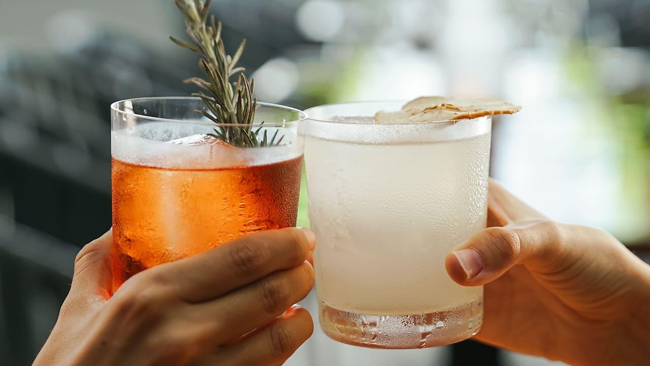 Drinks at Grand Hyatt Playa del Carmen