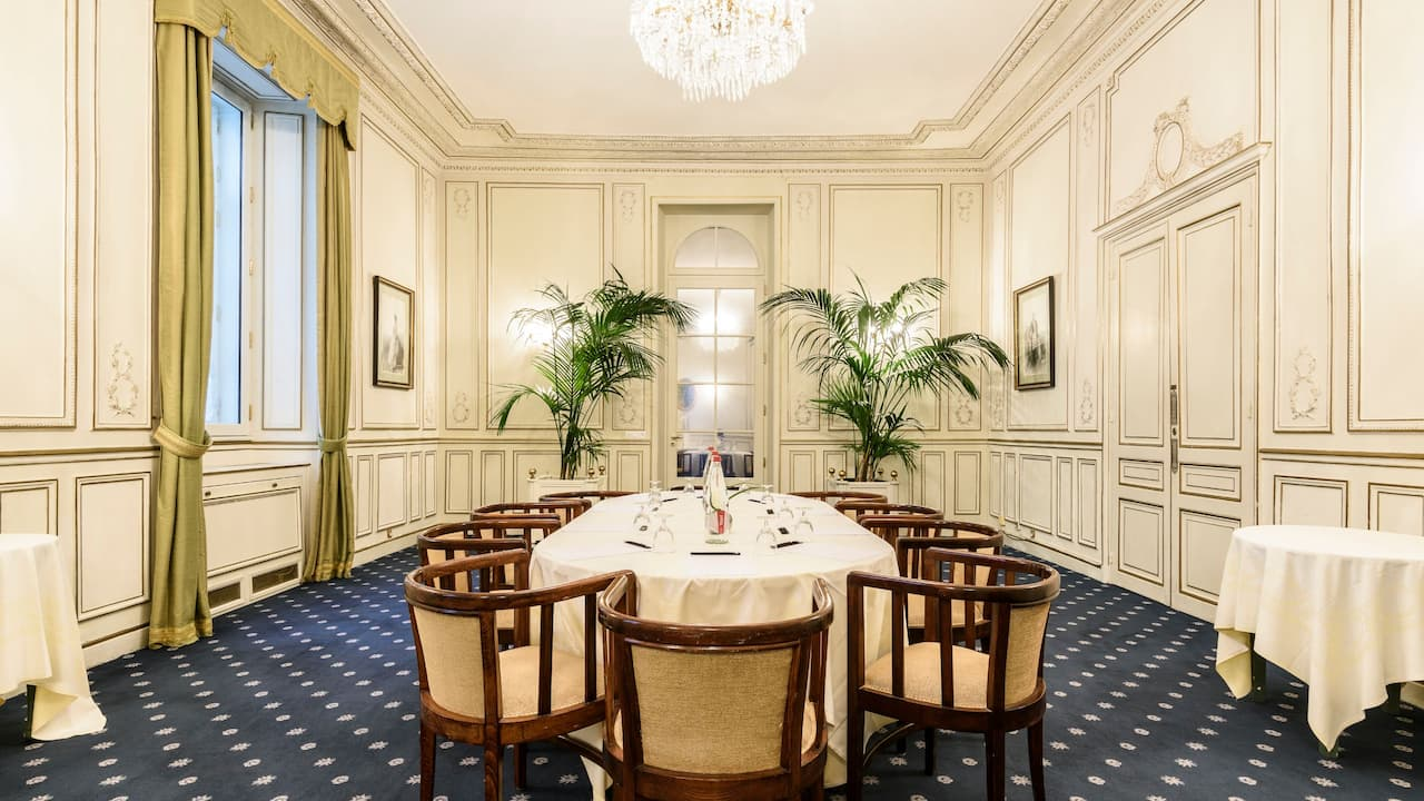 Prestigious Meeting Room at Hotel du Palais Biarritz