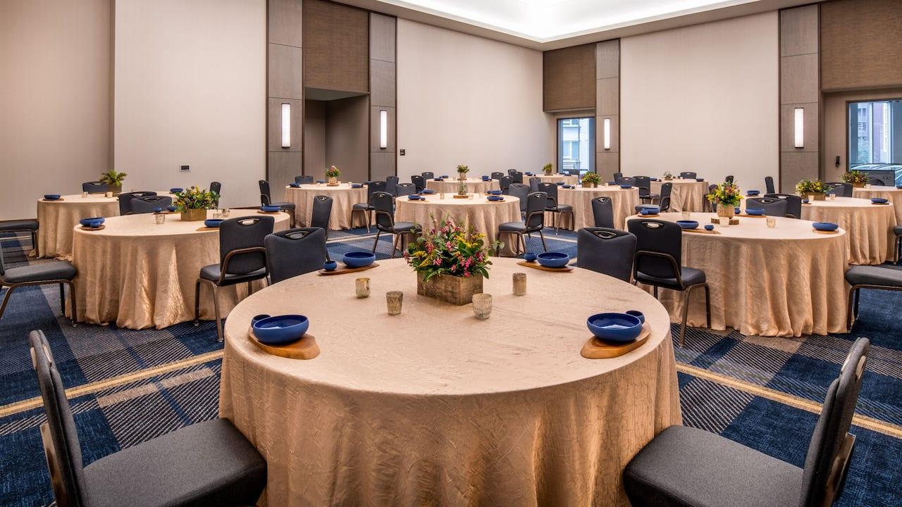 Ballroom Banquet Social Distancing