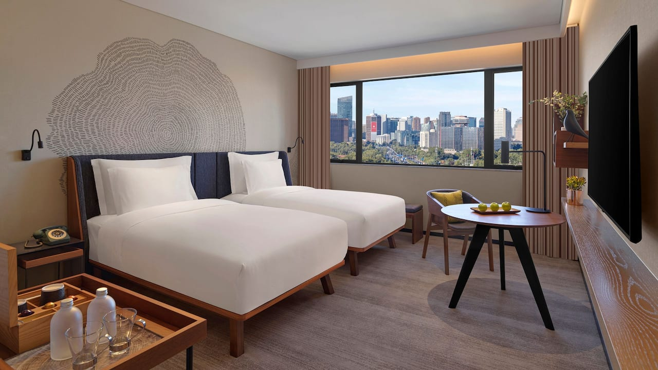 Two Twin View Guestroom