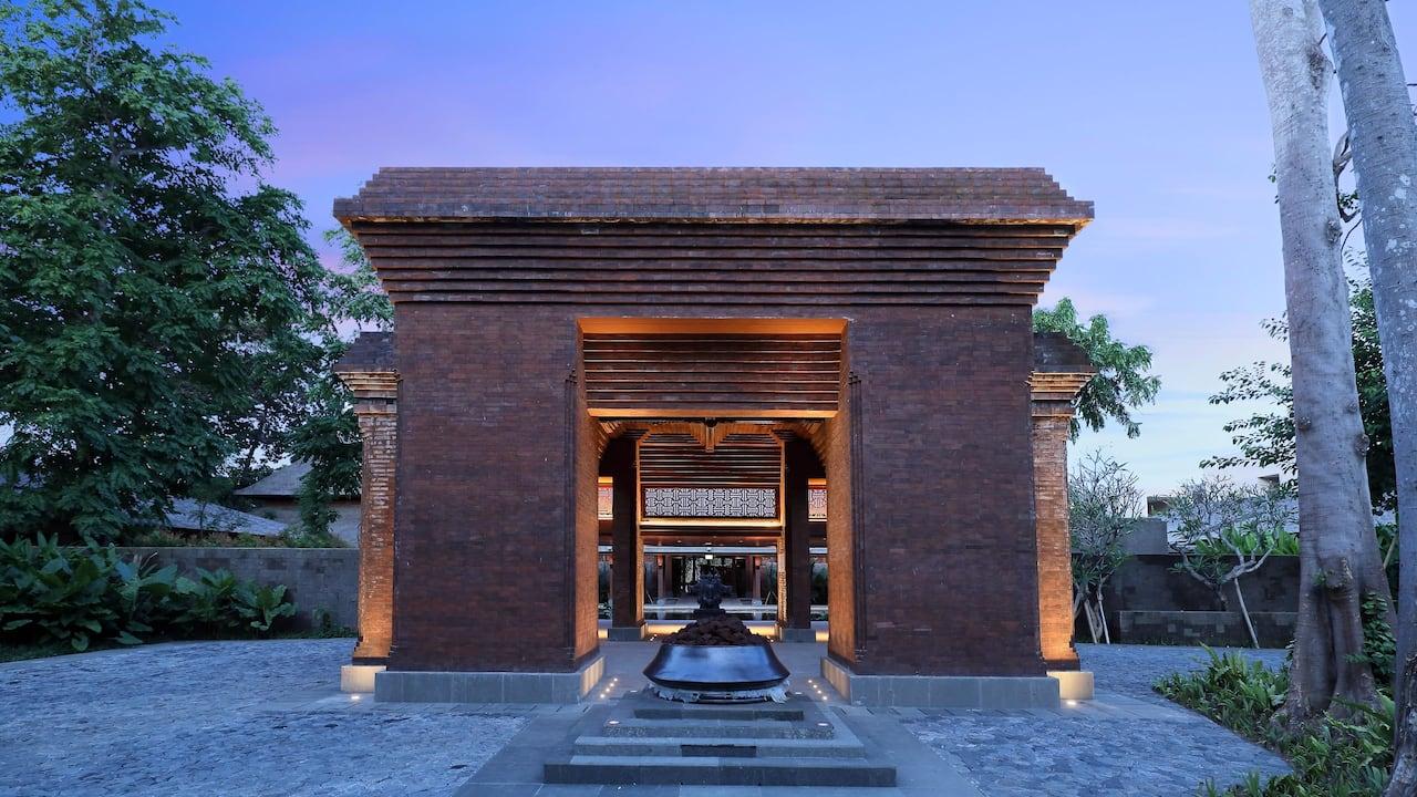 Entrance, Kori Agung of Andaz Bali