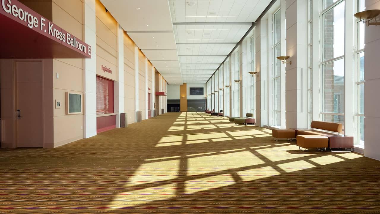 Ballroom Prefunction Hallway
