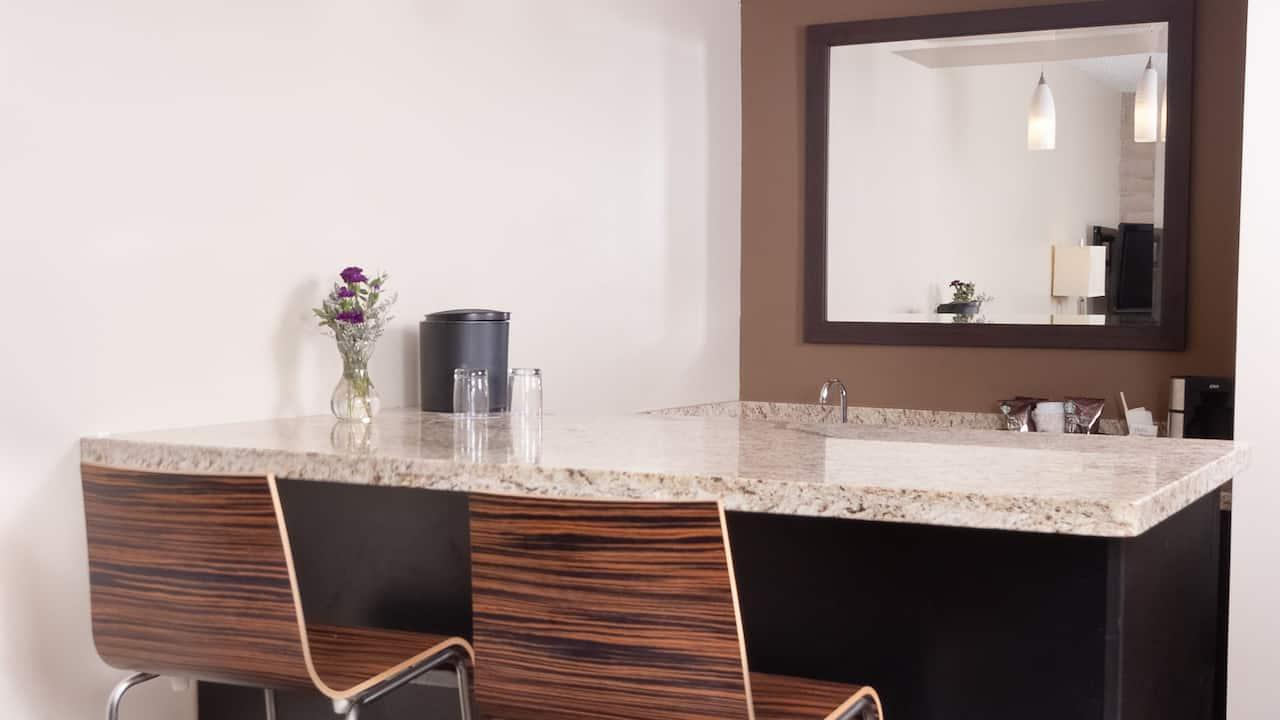 Guestroom Kitchenette Area