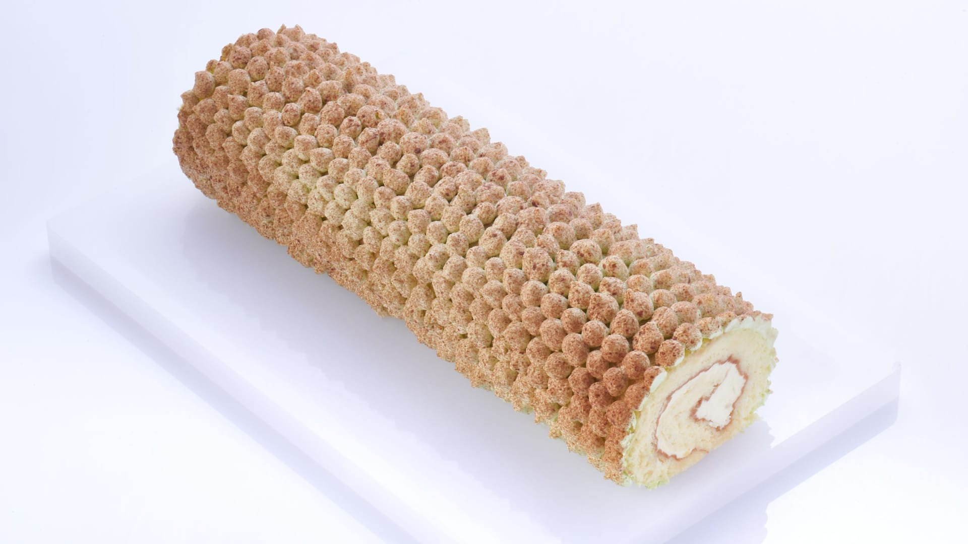 Malaysian Durian Swiss Roll