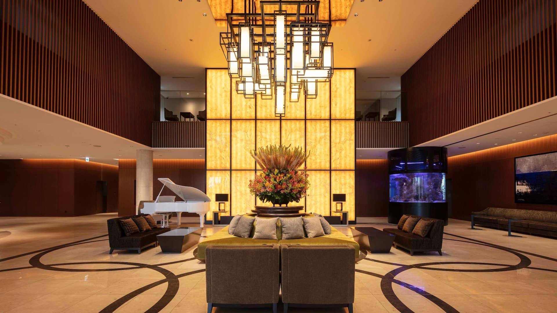 Hyatt Regency Tokyo Bay Hotel Lobby