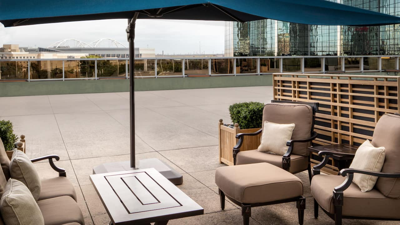 Private Terrace Skyline Dining Experience