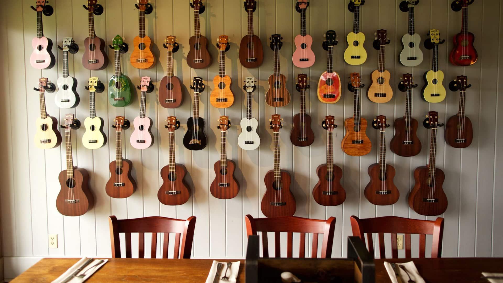 Ranch Restaurant Guitars
