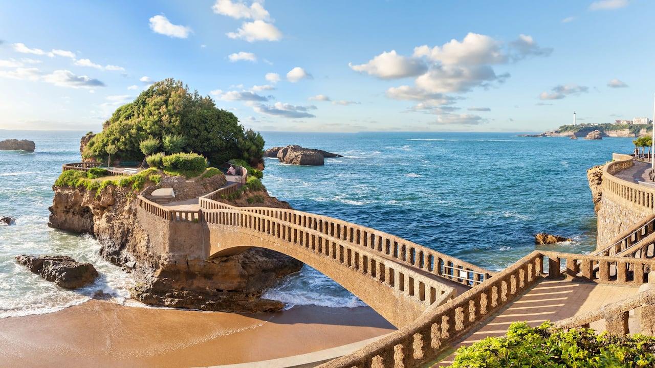 Endroits à visiter à Biarritz