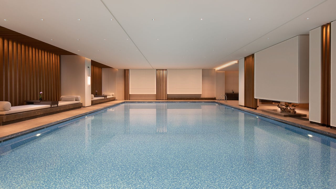 Indoor Swimming Pool at Grand Wuji Hotel