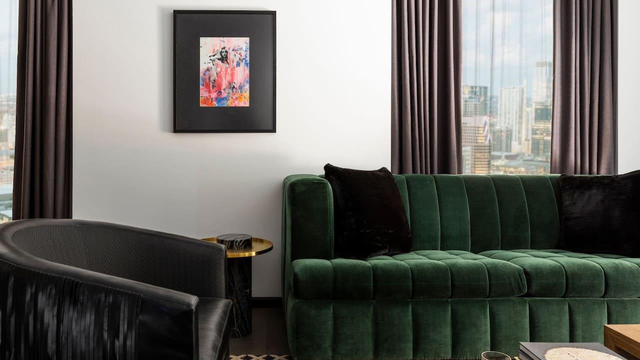 Model Lounge Area