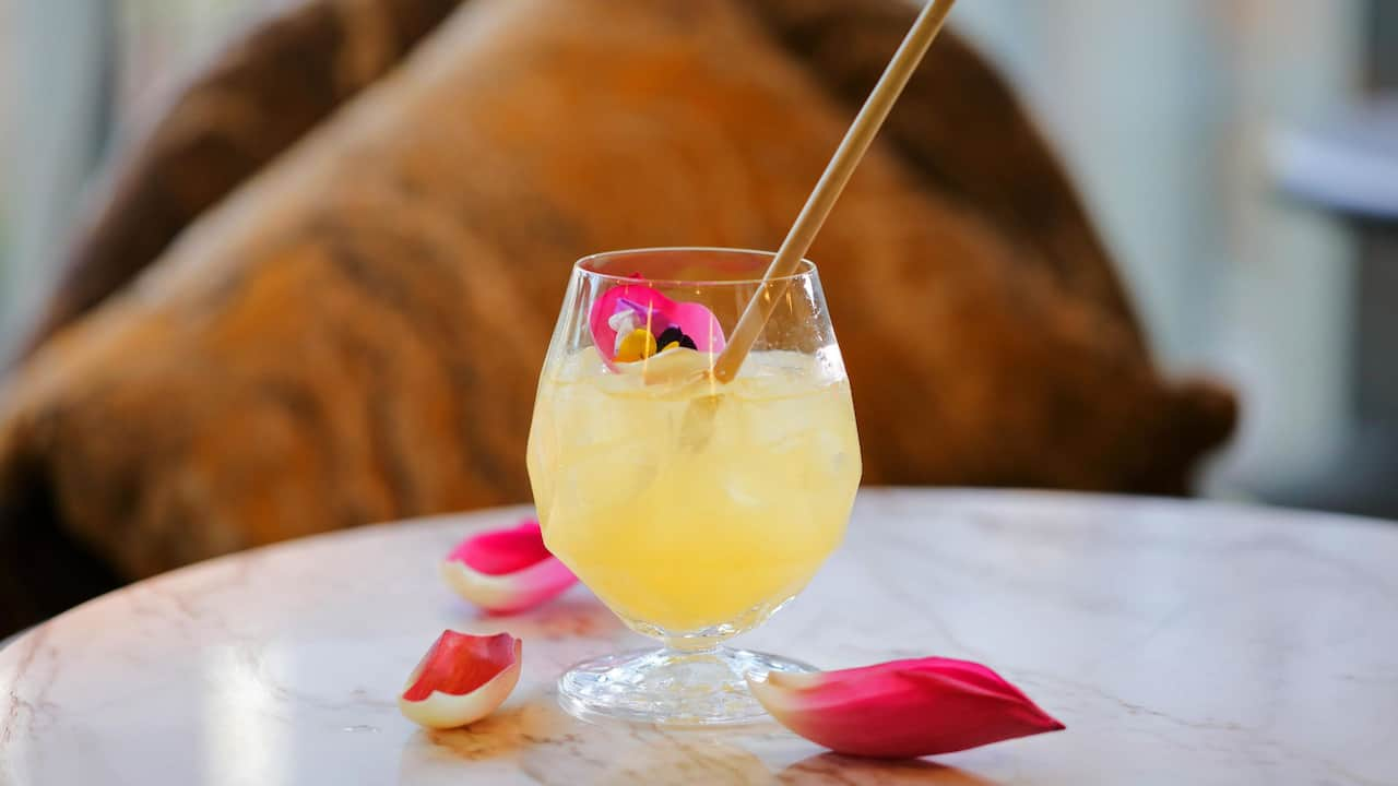 Land of the Lotus cocktail