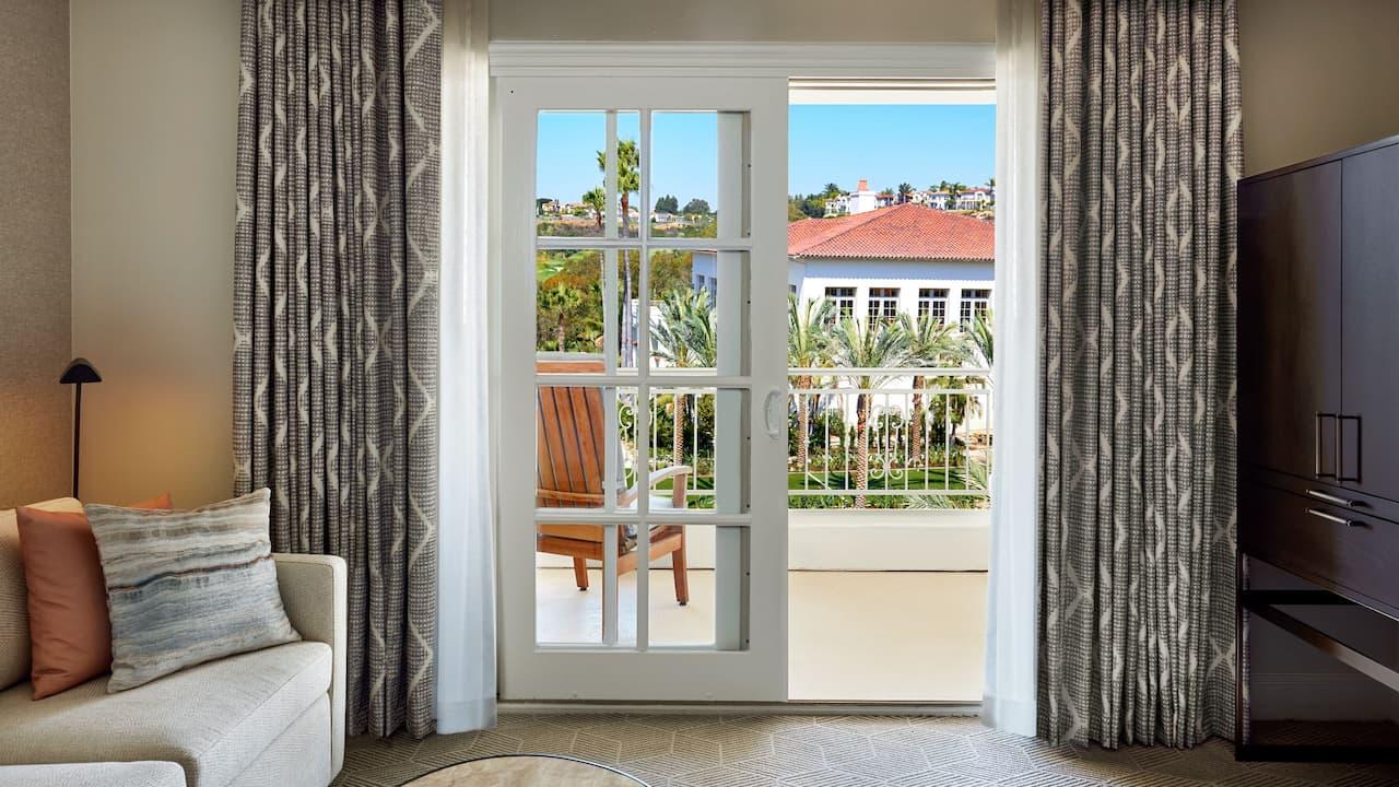 Premium hotel suite at a Carlsbad resort