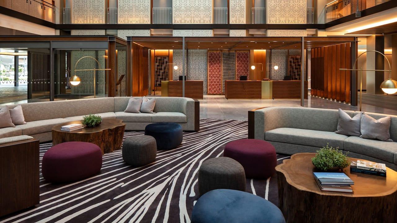 Park Hyatt Auckland Reception