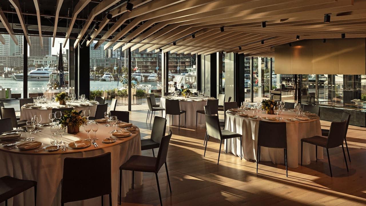 Park Hyatt Auckland Boathouse Event Space