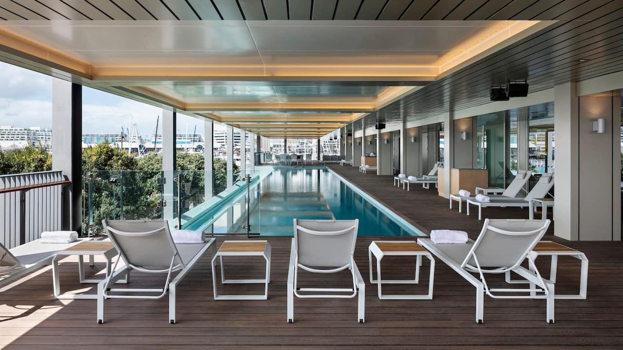 Park Hyatt Auckland Infinity Pool Deck