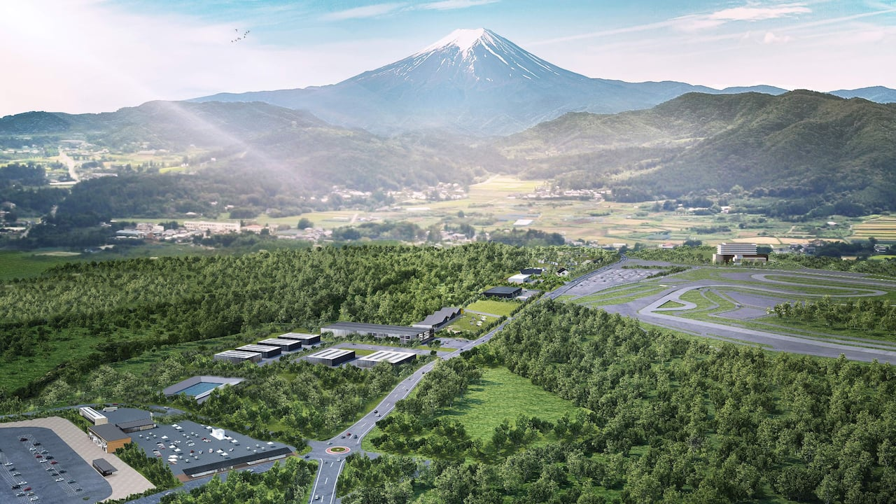 Fuji Speedway hotel and surroundings