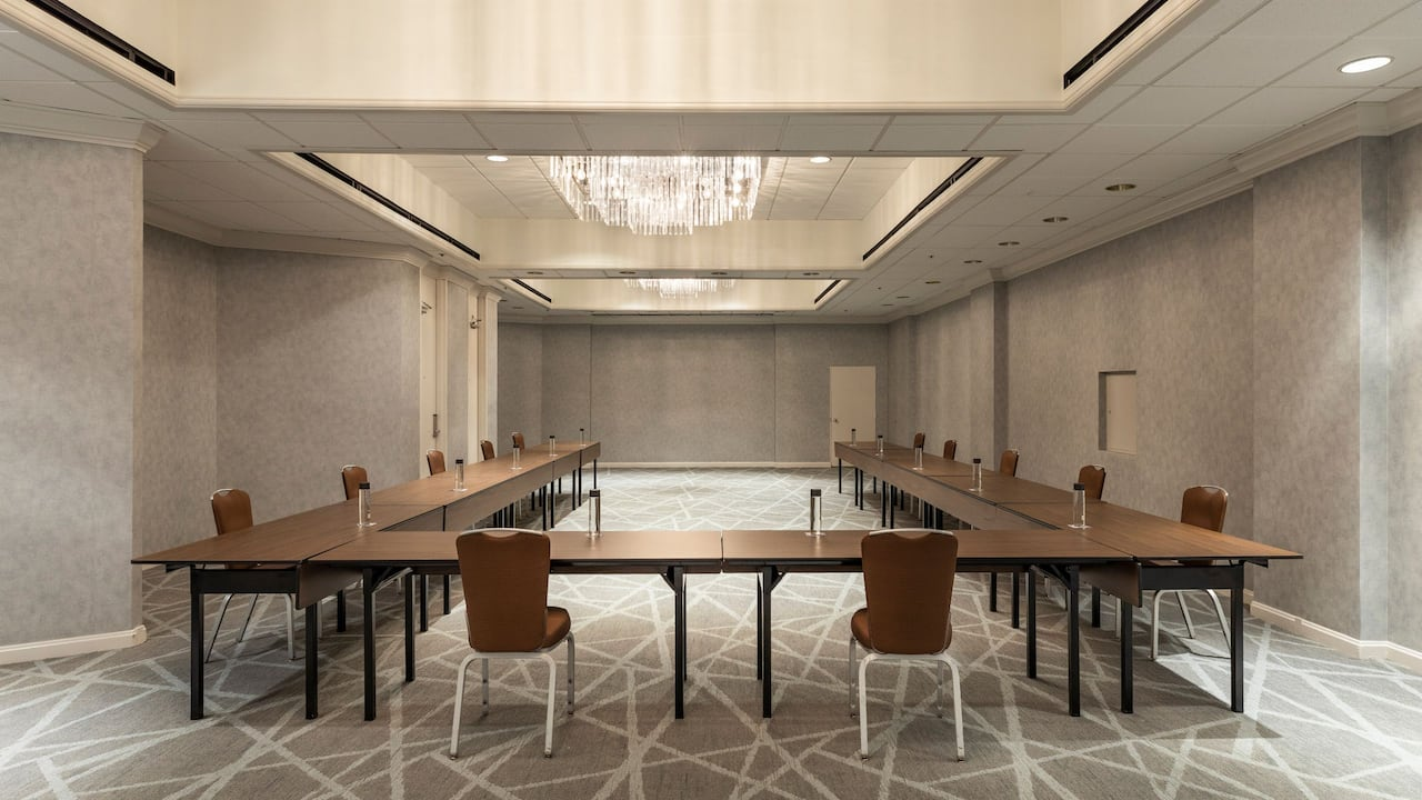 Meeting room in downtown Houston at Hyatt Regency Houston hotel